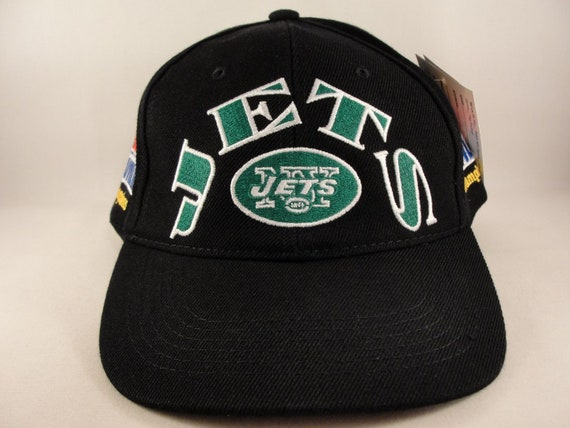 206b7ca6d27 NFL New York Jets Vintage Super Bowl Champions Snapback Hat