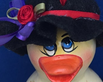 Easter Duck Gourd Ornament