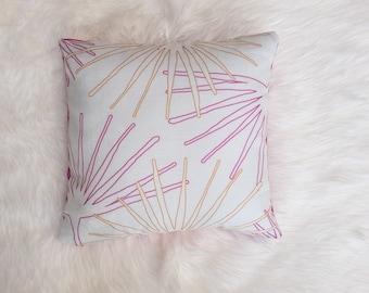 Palms Throw Pillow Sample