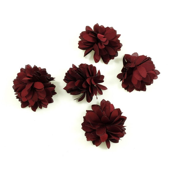 5 cm Fuchsia Set of 4 clips Click Clack Made in France
