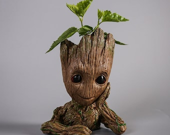 Baby Groot Flowerpot or Stationary Holder (Guardians of the Galaxy)