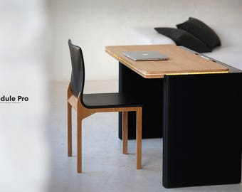 Technological table with implemented smart solutions for your comfort use.