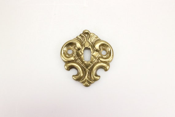BRASS B-0273 VICTORIAN KEYHOLE COVER