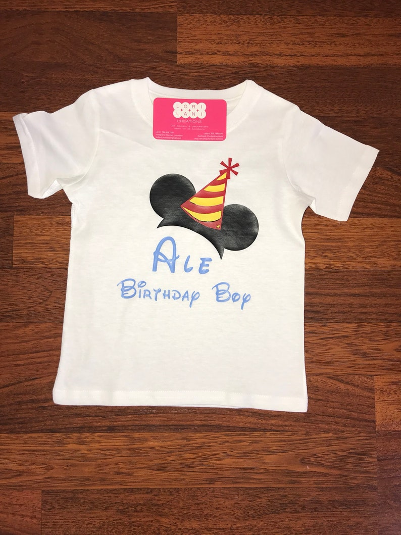 6f53bf8f6bf Disney inspired Bday shirt