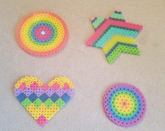 Perler Bead Rainbow Set