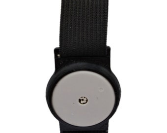 Freestyle Libre Sensor Armband for Protecting your Freestyle Libre Sensor Black Holder with Black or White Band