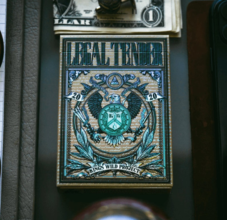 Legal Tender II Holographic Luxury Playing Cards