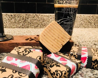 Three Pack of Naturally Made Soaps (raw milk, vanilla porter, and blue moon)