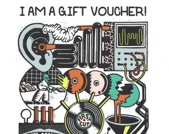 Gift Voucer 10inch Custom Record
