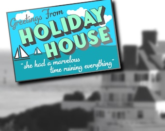 PRE-ORDER Holiday House Enamel Pin