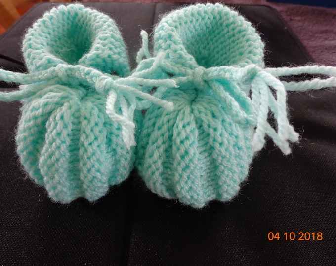 Slippers baby booties 0-3 months