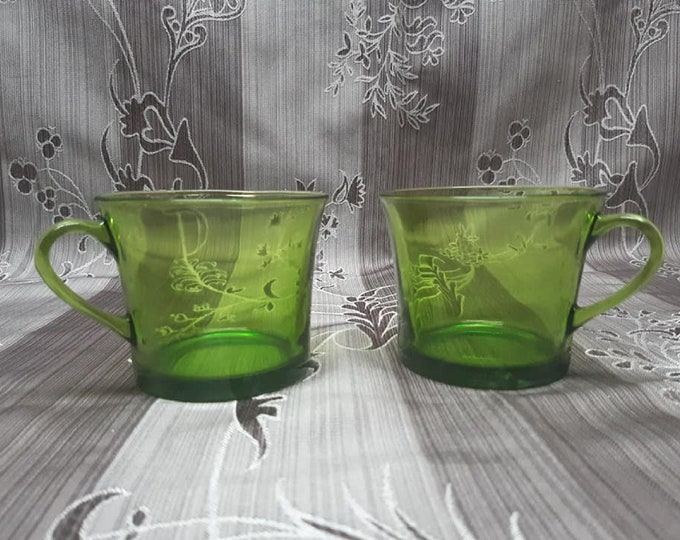 Rare mug has coffee Duralex 1970