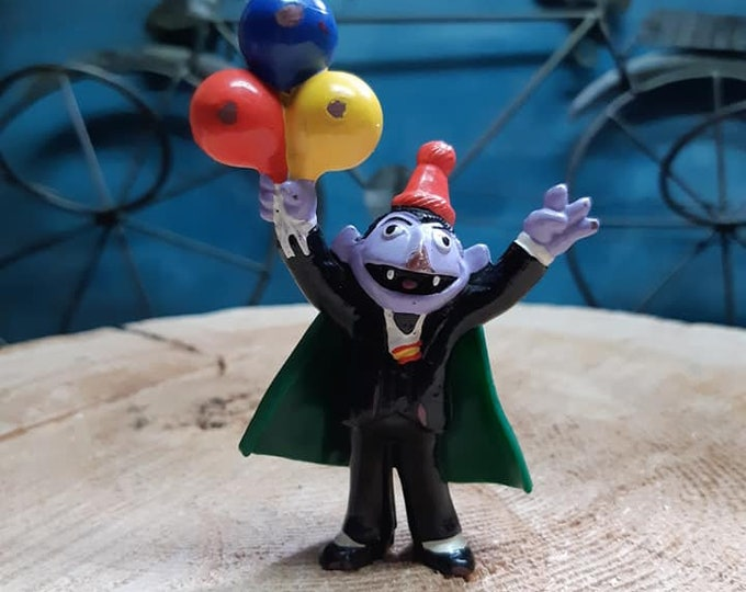 Sesame Street The Count, personnage miniature,
