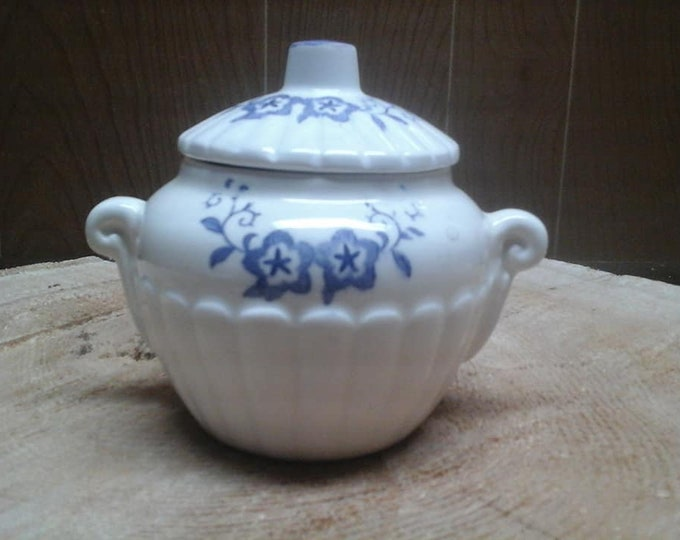 Sugar Bowl Dinnerware child japan Japan porcelain vintage 1952