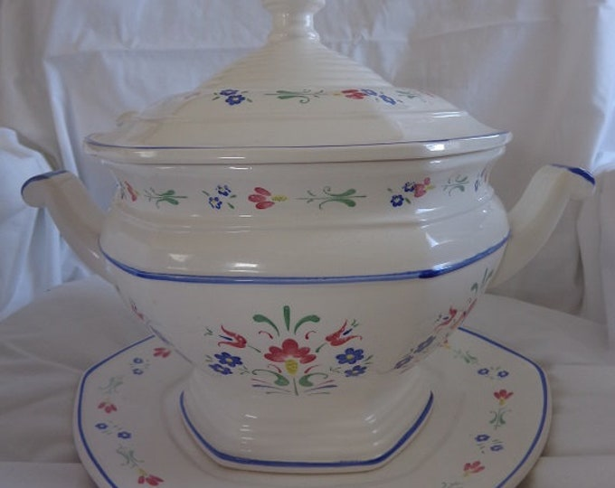 soup Tureens Octagon