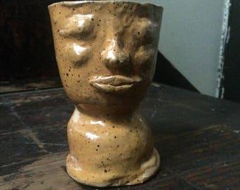 Ceramic Pot (orange)