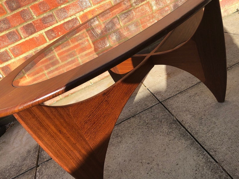 Astro Coffee Table.Astro Oval Coffee Table By Victor Wilkins For G Plan Circ 1960s