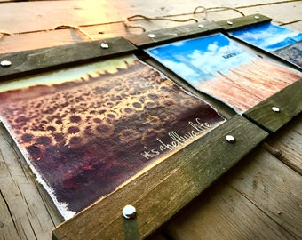 ALL Canvas Hanger Options - ©Krystle VanRoboys Photographer, Photo Transfer, Photo on Canvas, Agriculture Photography, Rustic Home Decor