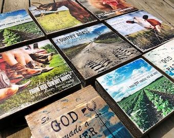ALL Wood Pallet Photo Transfer Options- ©Krystle VanRoboys Photographer, Photo Transfer on Wood, Wood Photo, Wood Sign, Wood Art, Farmhouse
