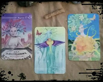 Variety Pack Tarot Reading! - 3 in 1 - Including  Three Card Tarot Reading with the Guardian Deck