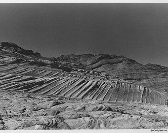 Sandstone erosion, Arizona, 2000