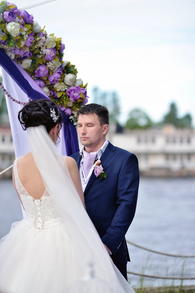 Bridal Veil 72 Sheer Soft Wedding Veil Ivory Veil Simple Veil White Veil Cathedral Veil Waltz Veil Chapel Veil Fingertip Veil