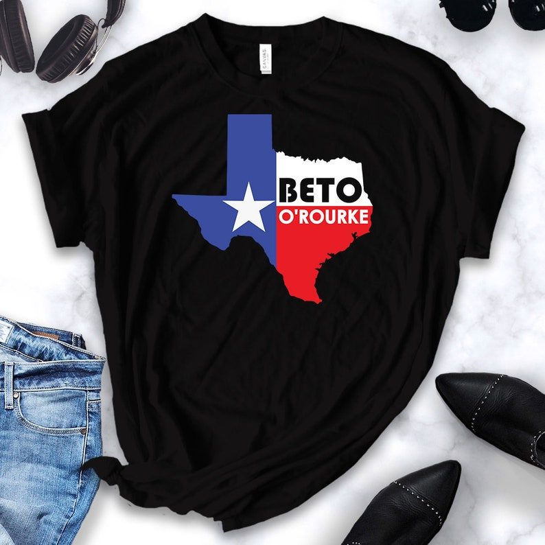 4518316a Beto Orourke shirt texas pride vote United States Senate | Etsy