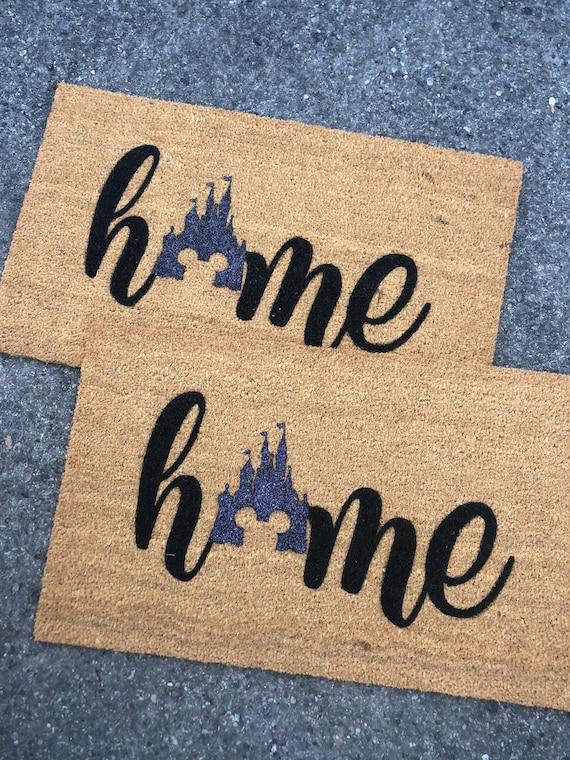 Doormat Disney Home Decor Handmade Disney Lilo and Stitch Door Mat