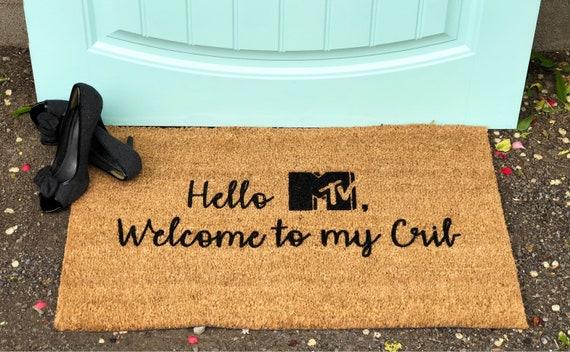 American Pride Personalized Family Welcome Doormat Custom Door Floor Mat GIFT