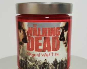 The Walking Dead Survival Candle by Magical Whiff Inc.