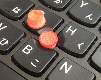 Low Profile SoftRim Type TrackPoint Caps 3d-printed x 2pcs
