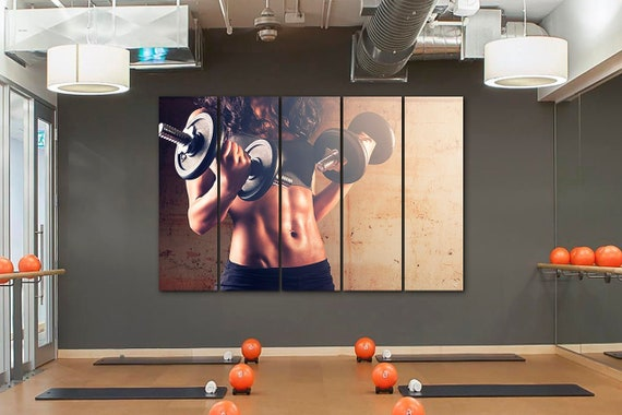 Image result for fitness sports art canvas""