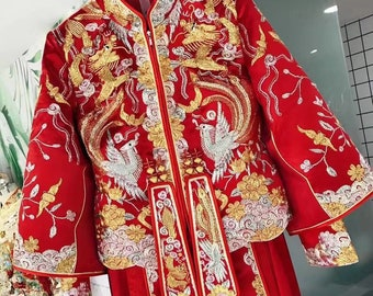 Chinese Wedding Dress Etsy