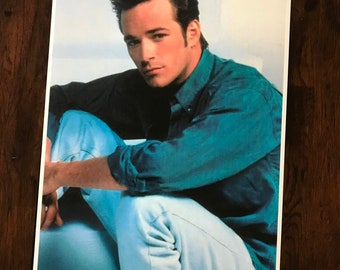 a3892e5f Luke Perry poster Dylan McKay Beverly Hills 90210