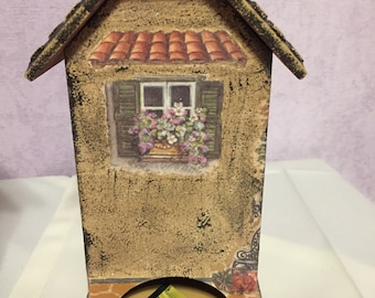 house for tea bags