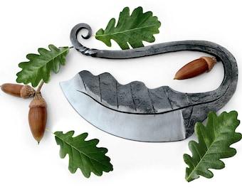 "The ""Druid"" Oak Leaf Herb Chopper"