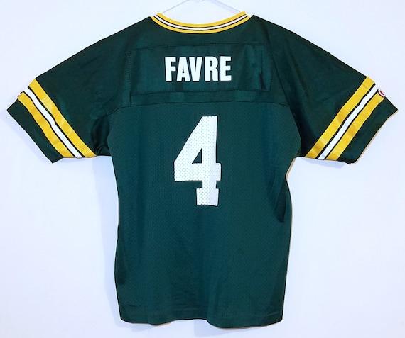 half off b93ce d076a Champion Youth Brett Favre Green Bay Packers XL 18-20 NFL Jersey