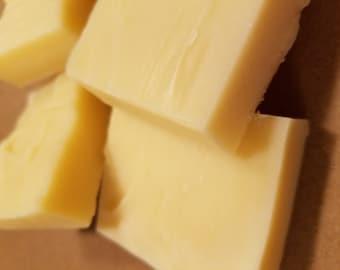 Handmade all natural vegan bar soap unscented