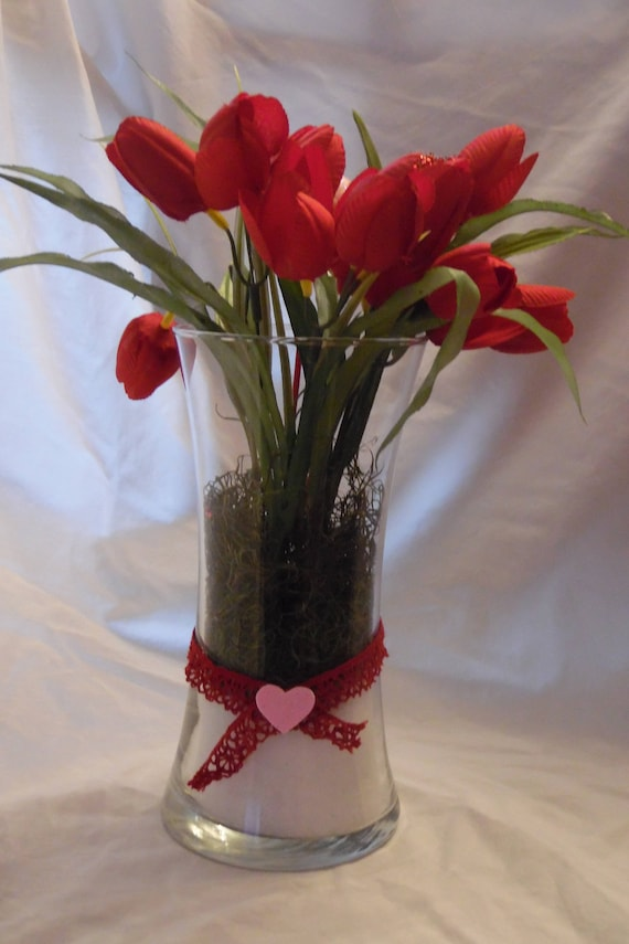 Rose Glass Vase