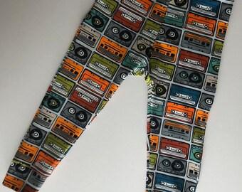 Casettes full print leggings