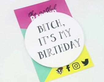 """à Mon préféré Bitch/"""" sweary Sarcasme Rude Carte /""""Joyeux anniversaire ou anniversaire"""