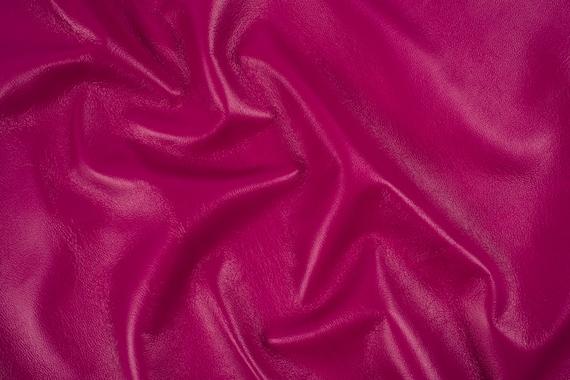Hides Nappa  FUSHSIA ITALIAN GARMENT Lambskin Leather Hide Skin