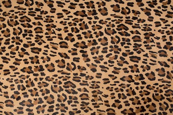 skins hides New Print Leopard  ITALIAN Cavallino Leather Pony hide skin