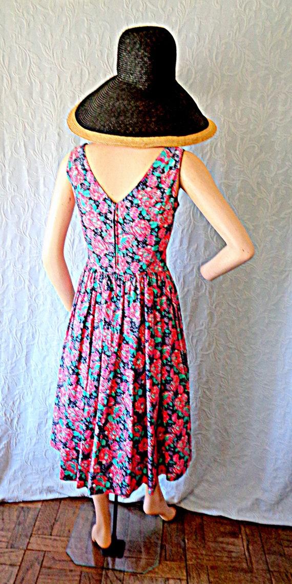 Laura Ashley Floral  Dress US 8