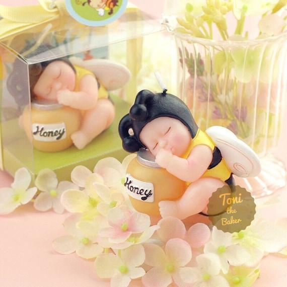 3D Sleeping Bee Baby Bear Silicone Fondant Cake Mould Chocolate Mold Decor