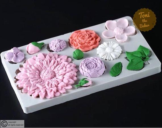 Leaf silicone mold fondant mold cake decorating tools chocolate gumpaste mold Js