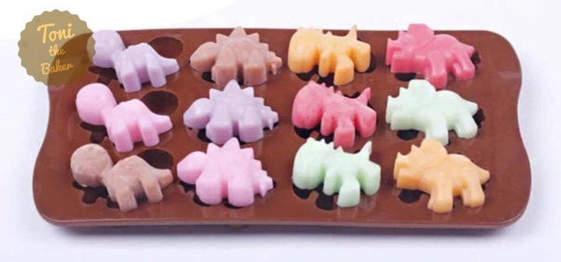 Baking Accs. & Cake Decorating Dinosaur Shape Cake Fondant Jelly Biscuit Mold Baking Mold Silicone
