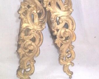 SET of 10 golden rings