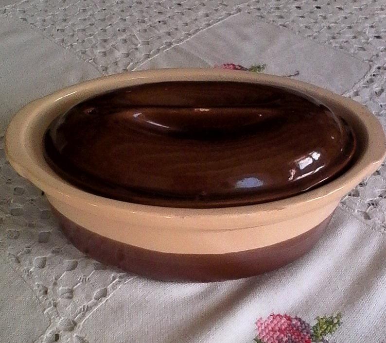 TERRINE THE BURGUNDY  VERNISS\u00c9E  Ceramics