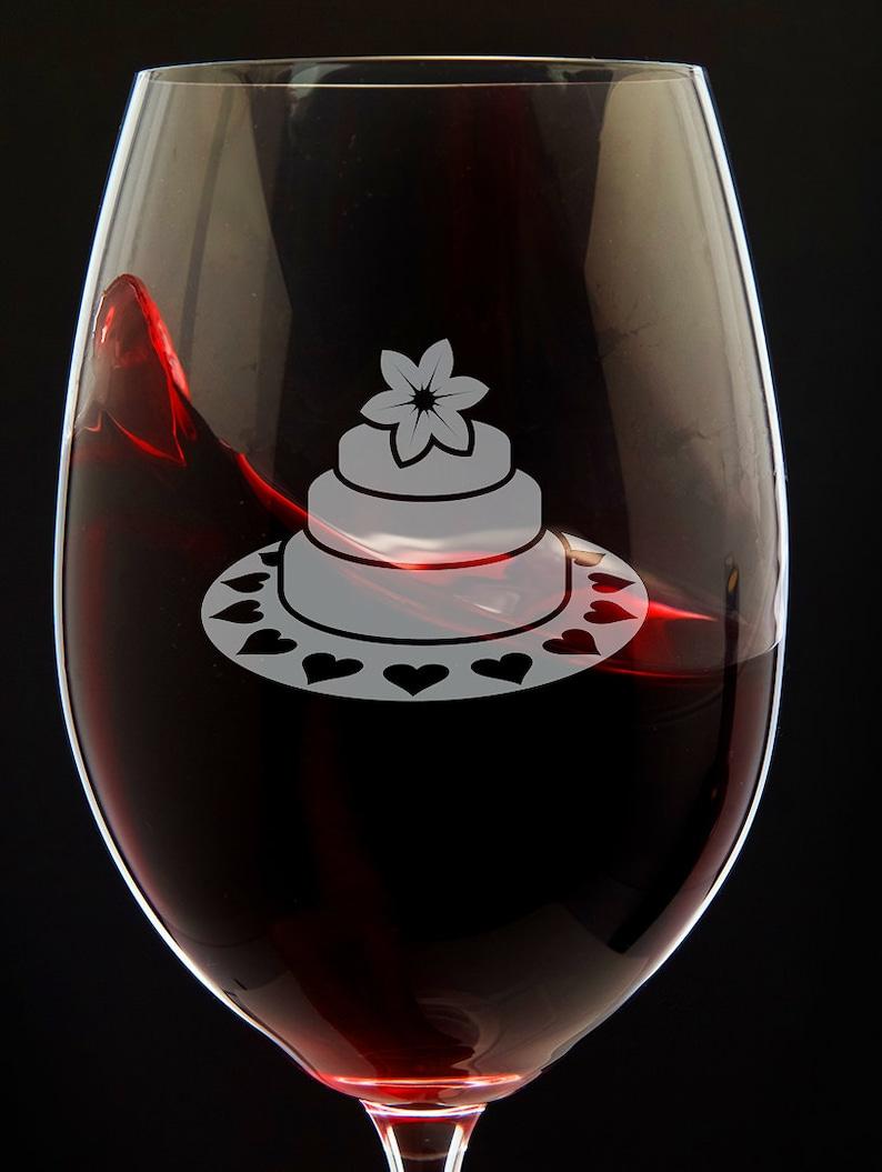 Birthday Wine Glass Cake 3 Gift For Lover